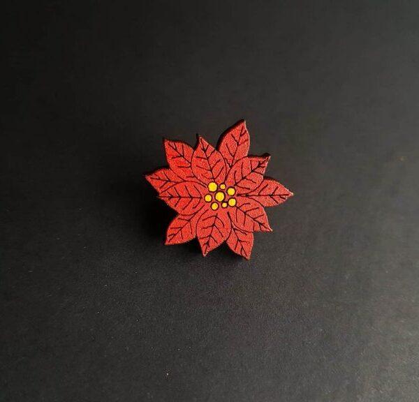 PARAROK-lesena-broška-božična-zvezda (2)