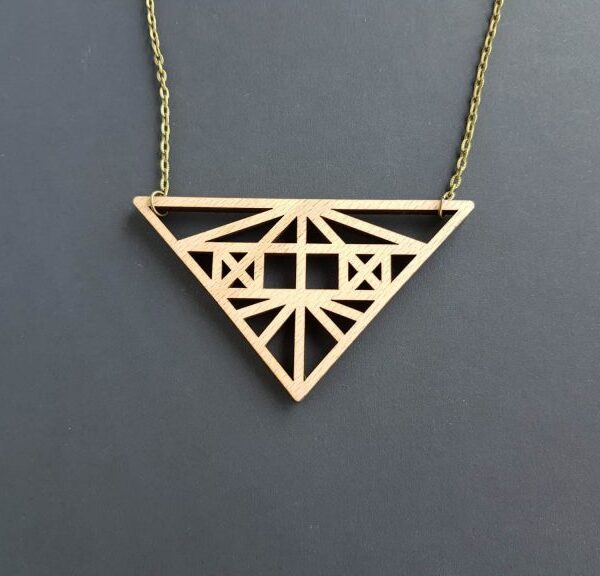 PARAROK_lesena_geometrijska_ogrlica_verižica (2)