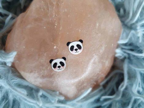 leseni uhani panda PARAROK nakit